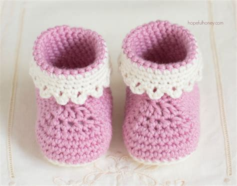 Baby Boot baby booties pattern free crochet