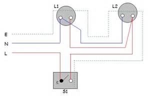 all about electical practical 1 one way switch two l surface wiring