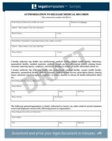 request for release of records template patient records release form template ciij