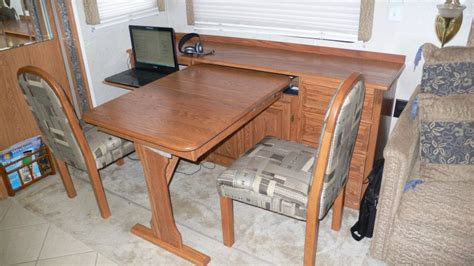 Rv Dining Table And Chairs Rv Net Open Roads Forum Replacing Booth Dining Area