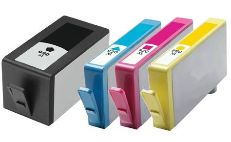 Hp 920 Xl 4pk for hp 920xl ink cartridge for officejet 6000 6500