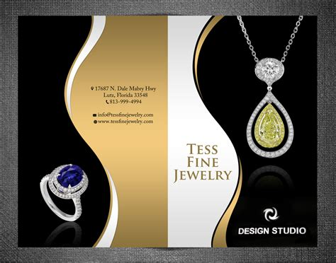 flyer design for jewellery 37 elegant professional jewelry brochure designs for a