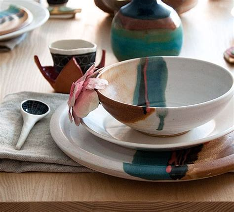 Handmade Pottery Table Ls - 298 best pottery dinnerware sets images on