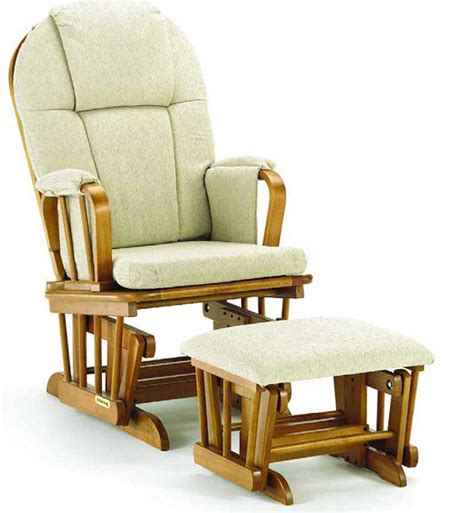 rocker glider chairs shermag classic glider rocker and ottoman 37913cb 26 0357