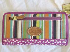 Nwt Fossil Key Per Coated Canvas Zip Id Coin Purse Owl fossil on fossil purses fossil wallet and fossil bags