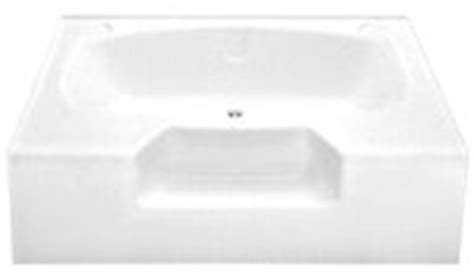 54 x 40 bathtub better bath 174 54 quot x 40 quot white heavy gauge abs garden tub