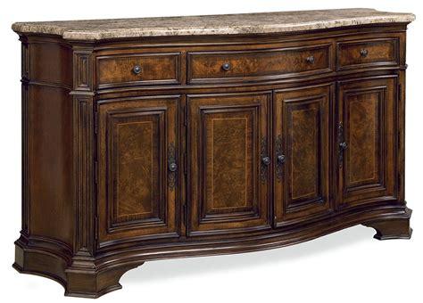 credenza furniture villa cortina marble top storage credenza from universal