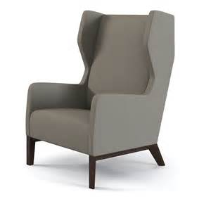 contemporary wingback chair 3d max holly hunt darder
