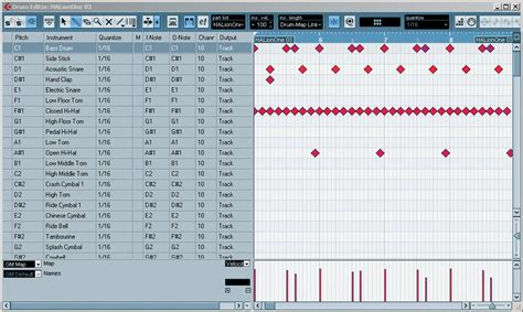 tutorial drum map cubase drum maps