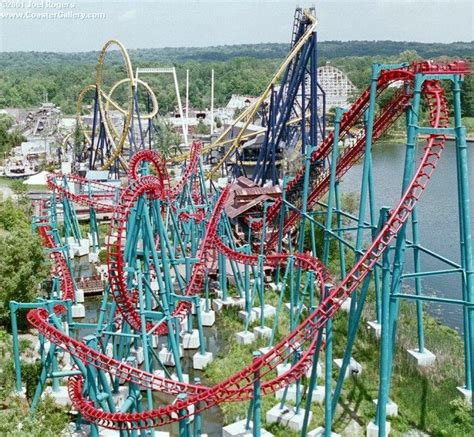 theme park in ohio geauga lake aurora ohio huge part of my childhood