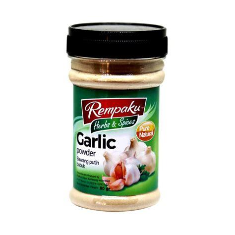 Bawang Bubuk jual rempaku garlic powder bubuk bawang putih 80 g