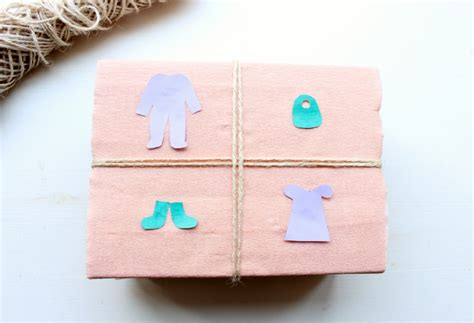 how to wrap baby shower gifts diy baby shower gift wrap