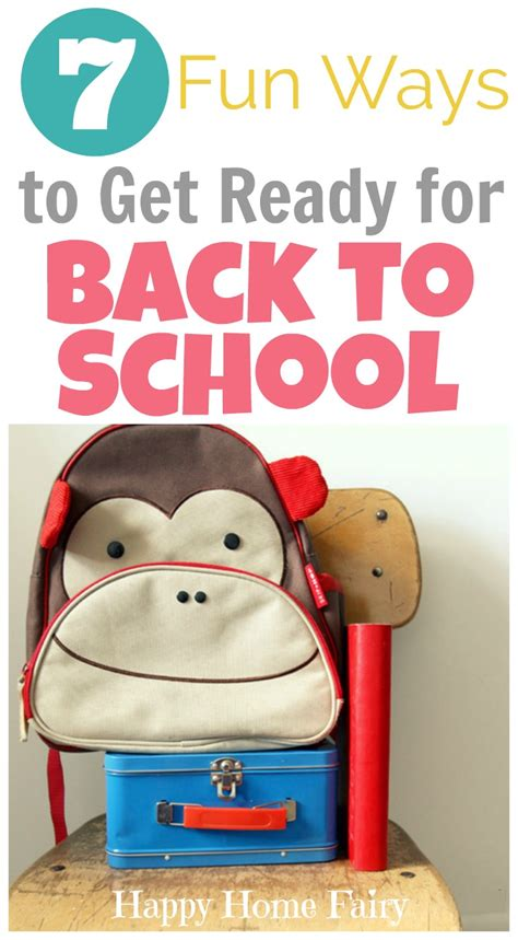 7 Best Ways To Get A To Like You by 7 Ways To Get Ready For Back To School Happy Home