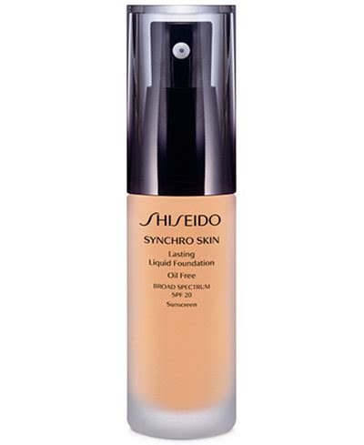 Foundation Shiseido Synchro Shiseido Synchro Skin Lasting Liquid Foundation Makeup