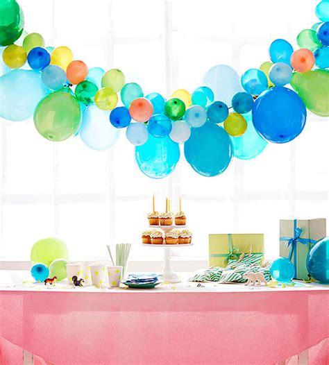 Birthday party balloon ideas