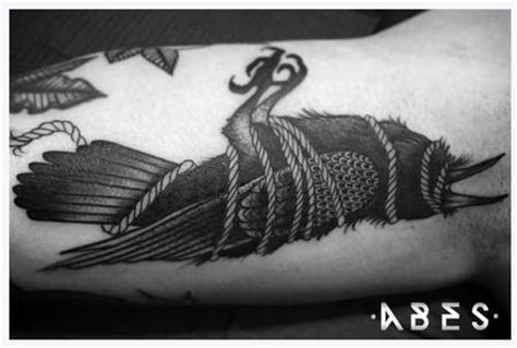 dead crow tattoo the map tattoos page 35