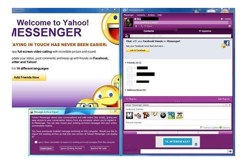 yahoo messenger download window phone