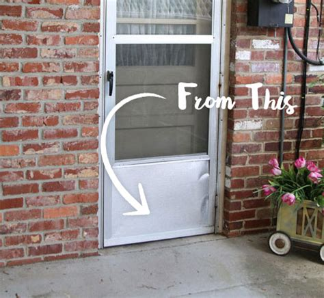 painting an exterior metal door updated exterior door paint revitalizes rear entry behr