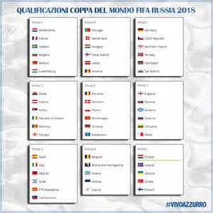Calendario Gironi Mondiali 2018 Qualificazioni Mondiali Russia 2018 Italia Con La Spagna