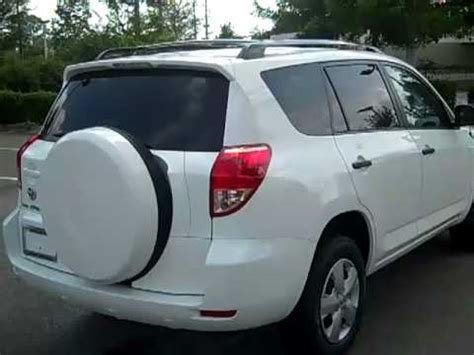 Toyota 4 Cylinder Cars 08 Toyota Rav4 4 Cylinder Used Car For Sale Gainesville