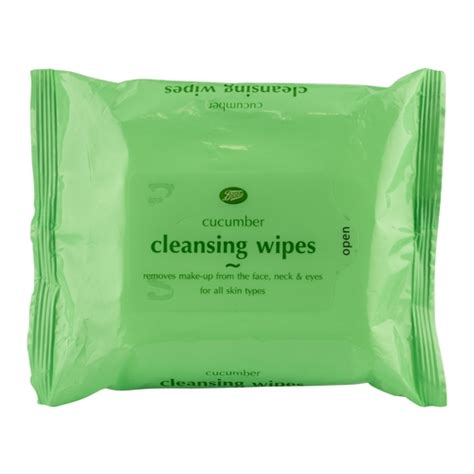 Boots Detox Products by Boots Cucumber Cleansing Wipes Boots