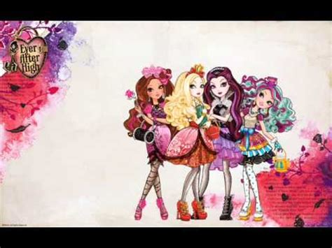 theme songs ever after high ever after high full theme song youtube