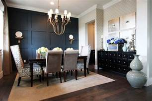 ideas for dining room walls accent wall ideas for dining room dining room contemporary with wood floor gray patterned