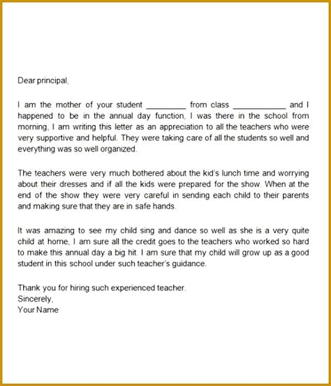 appreciation letter to parents from school 5 letter of appreciation to parents from school fabtemplatez