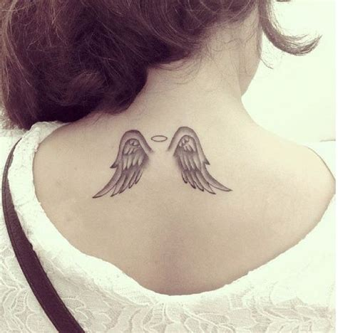 tattoo angel halo small angel wings tattoo i love this tattoo designs