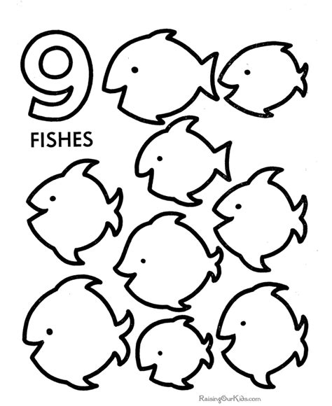 pages for toddlers number coloring pages for toddlers coloring home