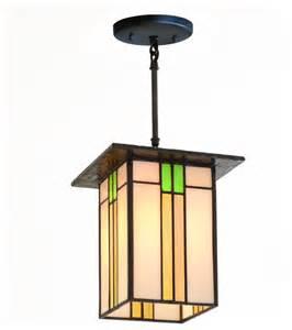 Prairie Home Style Prairie Mission Lantern 657 Craftsman Pendant