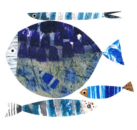 big fish fish a3 limited edition giclee print by