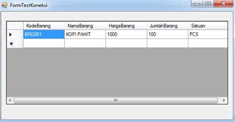 tutorial visual basic database test koneksi database vb 2008 pintar vb tutorial