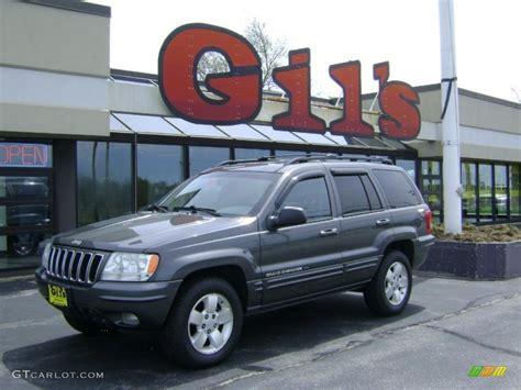 2001 gray jeep grand cherokee 2001 graphite grey pearl jeep grand cherokee limited 4x4