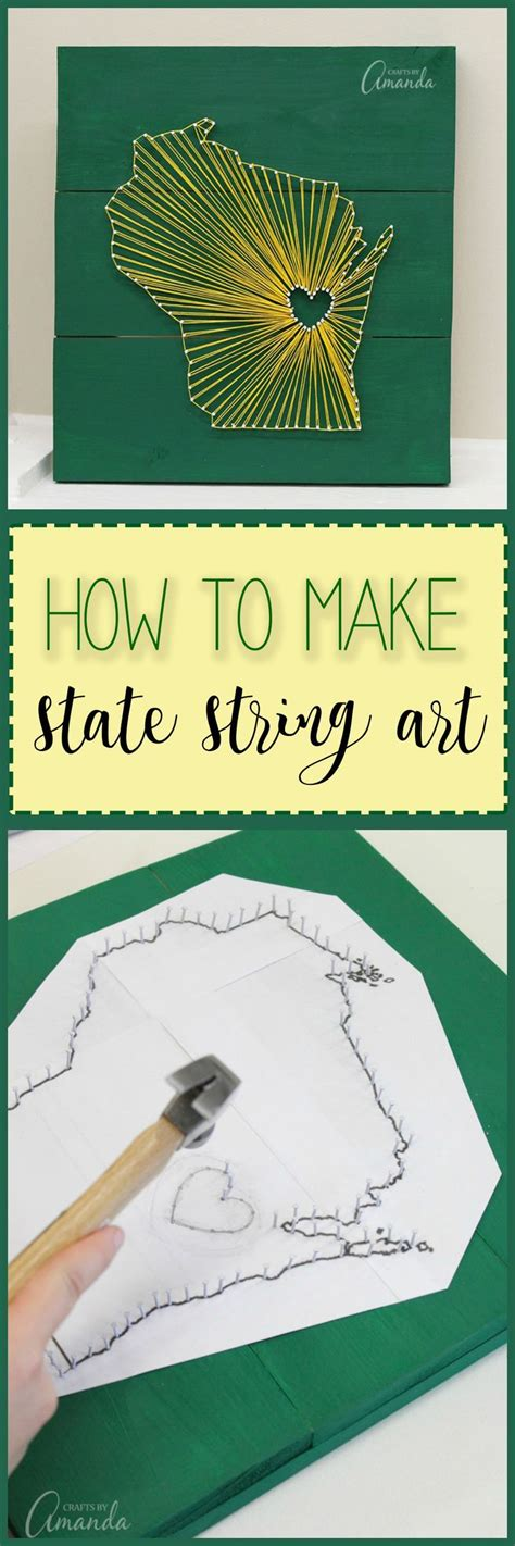 How To Make String And Nail - 1000 ideas about string states on string
