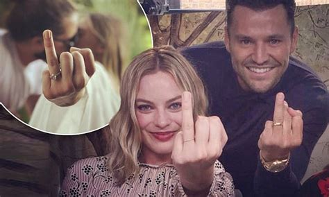 margot robbie ring margot robbie recreates her iconic wedding ring photo