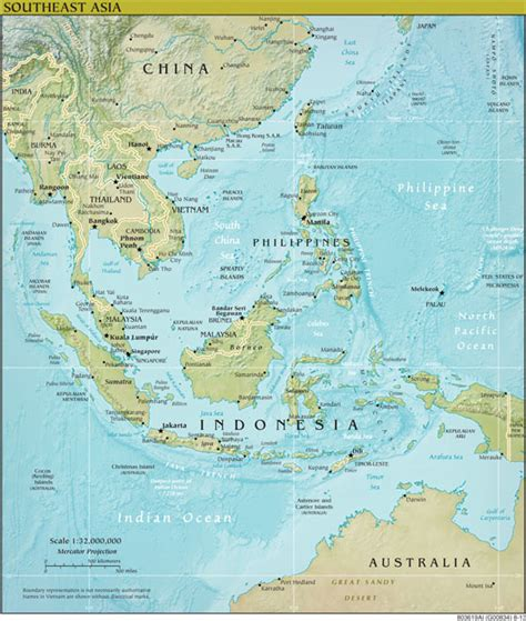 south central asia physical map getting scoops in southeast asia covering