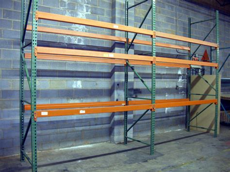 used pallet rack uprights store fixture warehouse