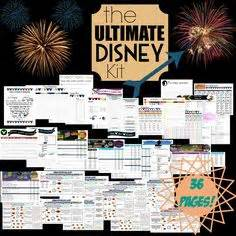 get ready for your disney vacation free printable disney