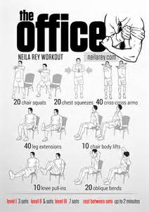Office Chair Ab Workout Office Workouts On Desk Exercises Workout At