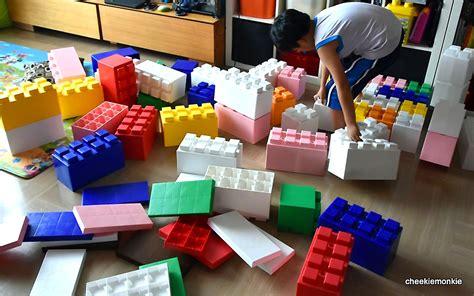 adult size legos giant lego blocks arcade games racing simulators photo