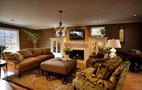 Color Schemes For Homes Interior by 20 Stunning Earth Toned Living Room Designs Home Design