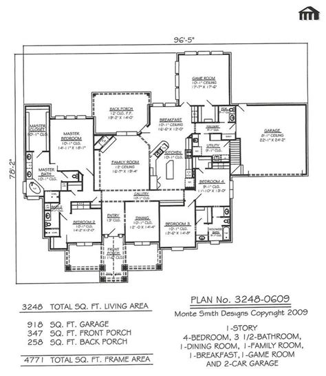 home design story beds 1 story 4 bedroom 3 5 bathroom 1 dining room 1 family