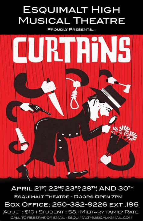 high school musical curtains school musical curtains