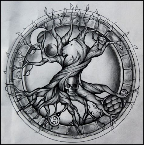 tree of life tattoo designs meaning tree of by aluc23 on deviantart
