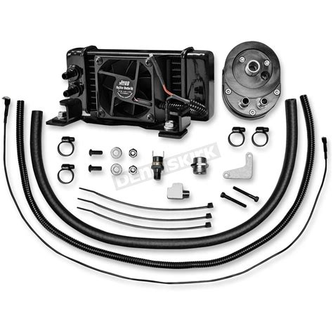 jagg oil cooler with fan jagg low mount fan assisted oil cooler kit 751 fp2300