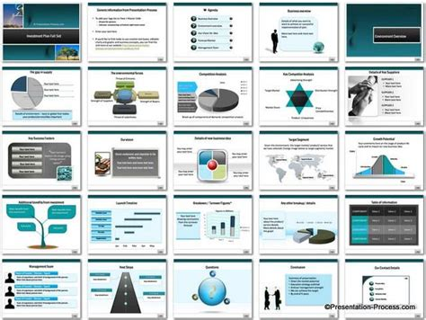 powerpoint set template investment presentation template tomyads info