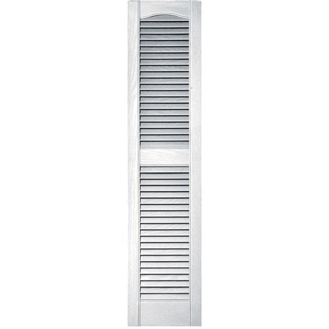 home depot wood shutters interior homebasics plantation faux wood white interior shutter