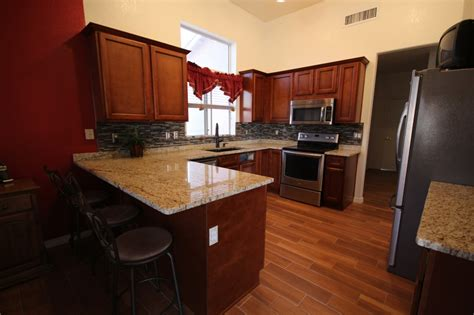 Kitchen Countertops And Cabinet Combinations Portfolio Capital Granite Cabinets Flooring