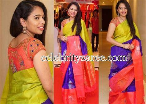 boat neck heavy blouse tri color sari boat neck blouse heavy work bridal blouse